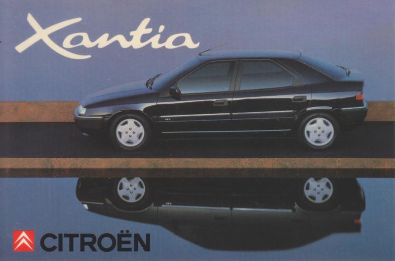 Citroën Xantia, sticker, 10 x 15 cm *