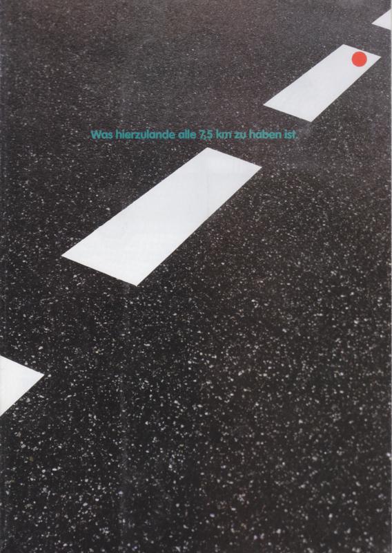 Program brochure, 8 pages,  A4-size, German language, 01/1981