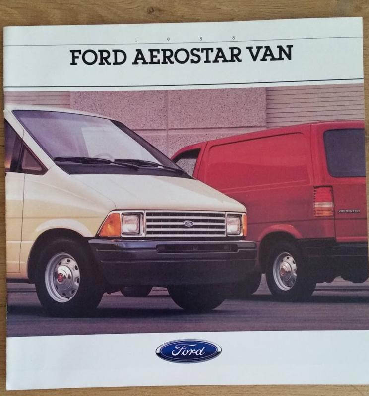 Aerostar Van,  12 square large pages, English language, 8/87, # 8811
