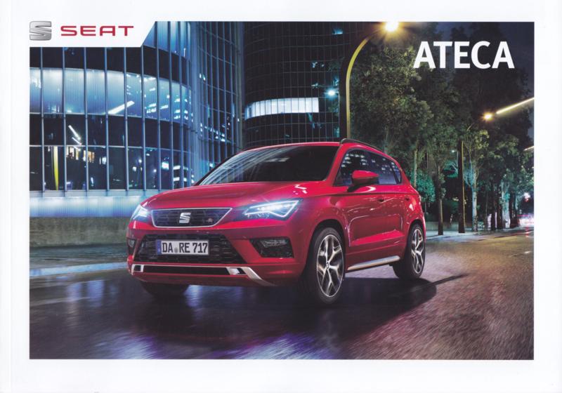 Ateca brochure, 56 pages, 01/2018, German language