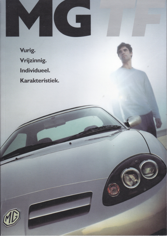 TF Convertible with 115 - 160 hp brochure, 40 pages, # EO 2024, 2002, Dutch language