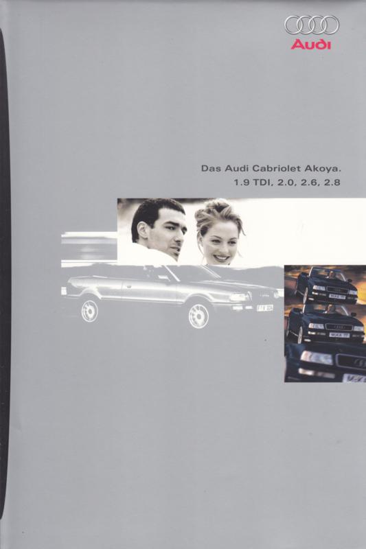 Cabriolet Akoya brochure, 8 pages, 2/1996, German language