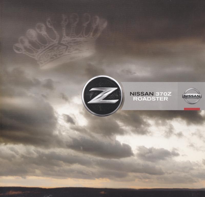 370 Z Roadster brochure, 8 pages, 02/2010, Dutch language