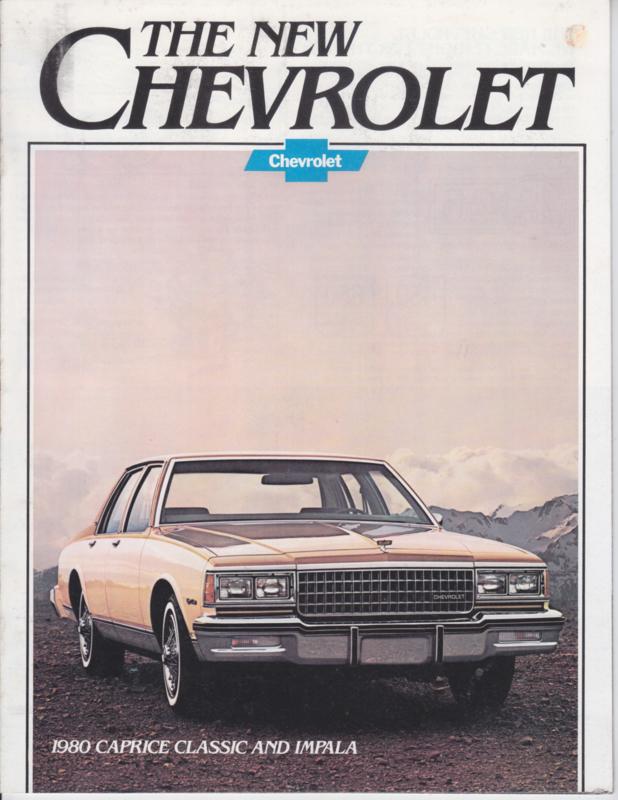 Caprice Classic & Impala, 16 pages, 08/1979, English language, USA