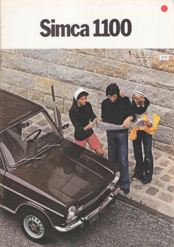 1100 range, 16 pages, 9/1974, Dutch language