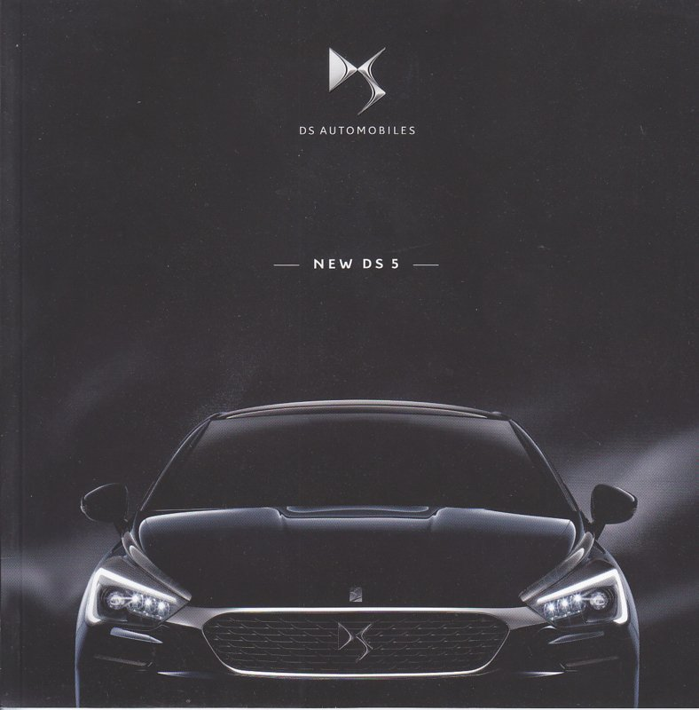 DS5 brochure, 48 pages, 05/2015, Dutch language