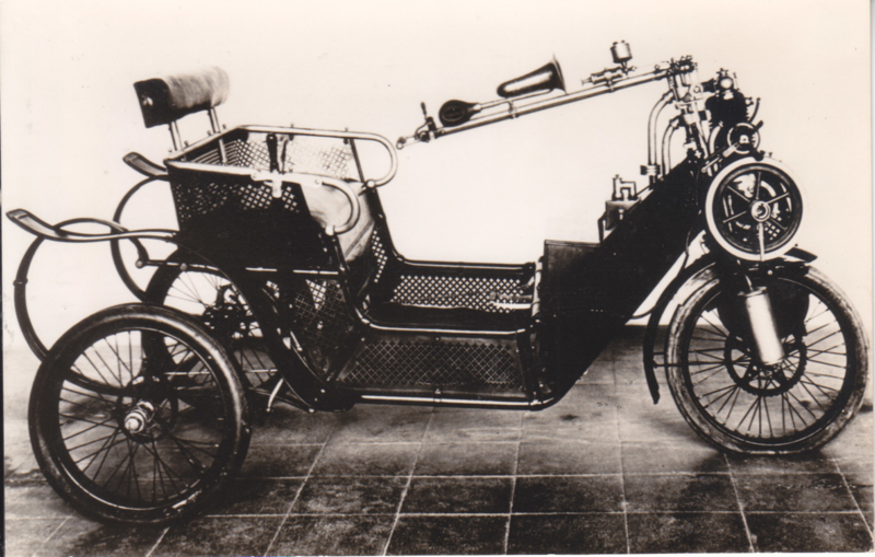 Cyclonette 1914, Car museum Driebergen, date invisible, # 26