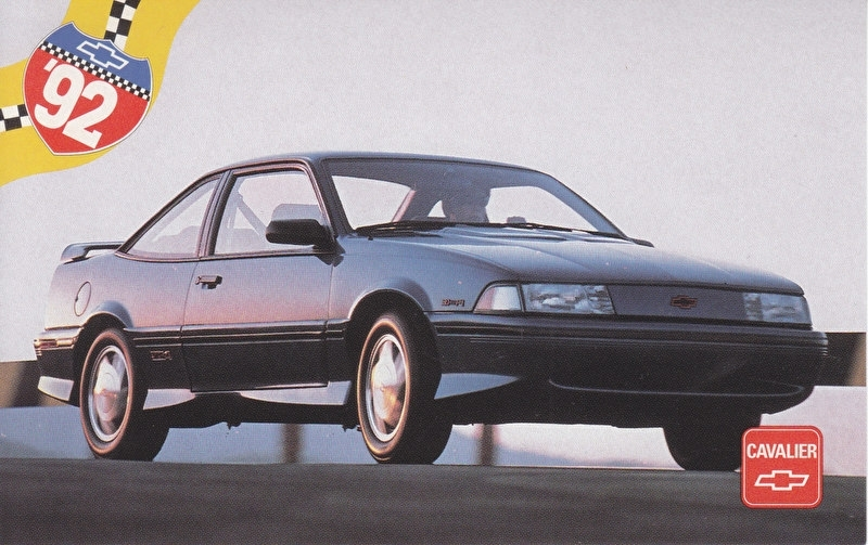 Cavalier,  US postcard, standard size, 1992