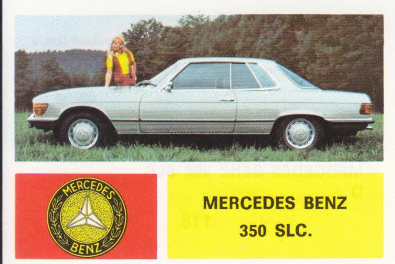 Mercedes-Benz 350 SLC, 4 languages, # 116