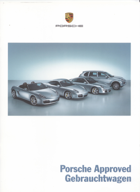 Approved occasions brochure, 16 pages, 08/2008, German language