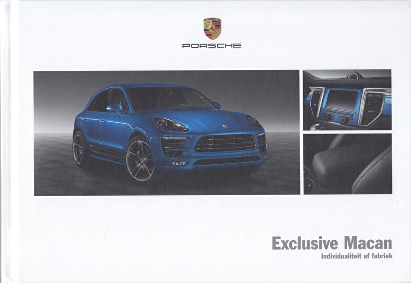 Macan Exclusive brochure, 40 pages, 11/2013, hard covers, Dutch