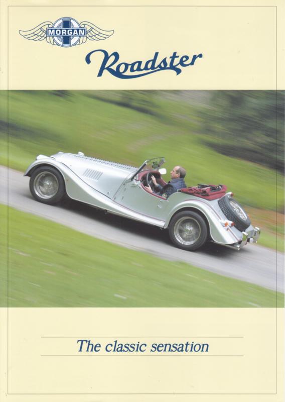 Roadster 3.0 V6 leaflet, 2 pages, DIN A4-size, Dutch language