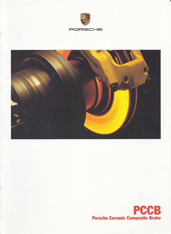 Ceramic brakes - PCCB brochure, 8 pages, 09/2001, Dutch language