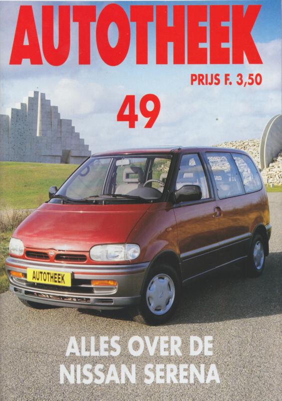 issue # 49, Nissan Serena, 32 pages, 2/1993, Dutch language
