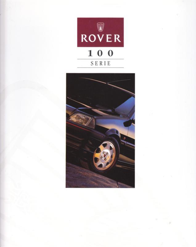 100 brochure, 6 pages,  about 1993, Dutch language