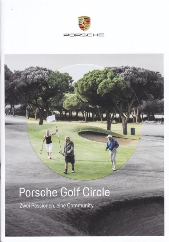 Golf Circle brochure, 16 pages, 03/2018, German