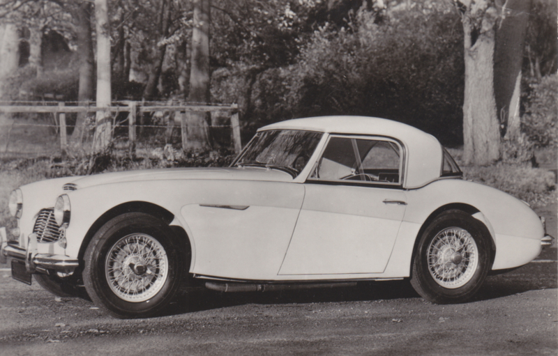 Austin Healey 100 Six, Bur. Autopress, date 458, Serie II No. 10