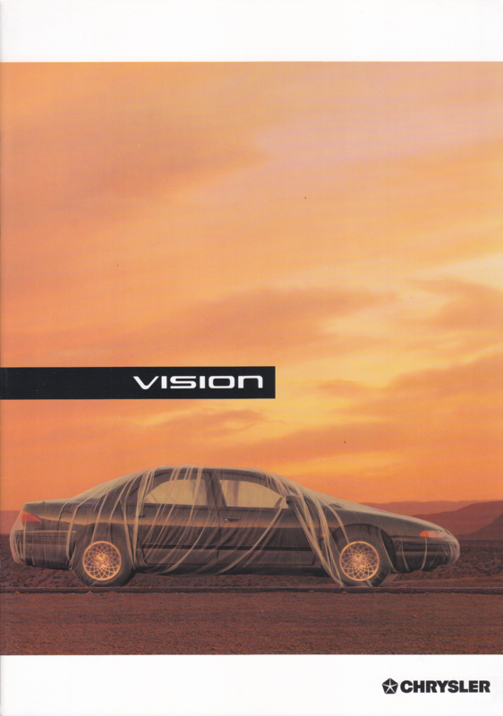 Vision brochure, A4-size, 22 pages, 1994, Dutch language