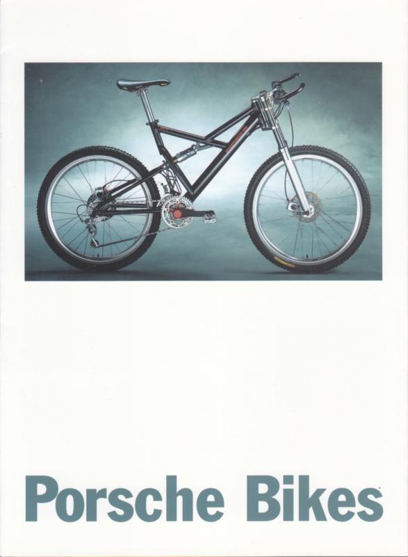 Bikes brochure, 10 pages, 08/1995, German language