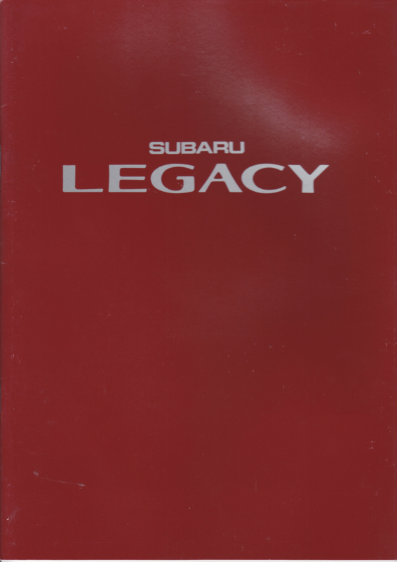 Legacy brochure, 38 pages, Dutch language, 1989