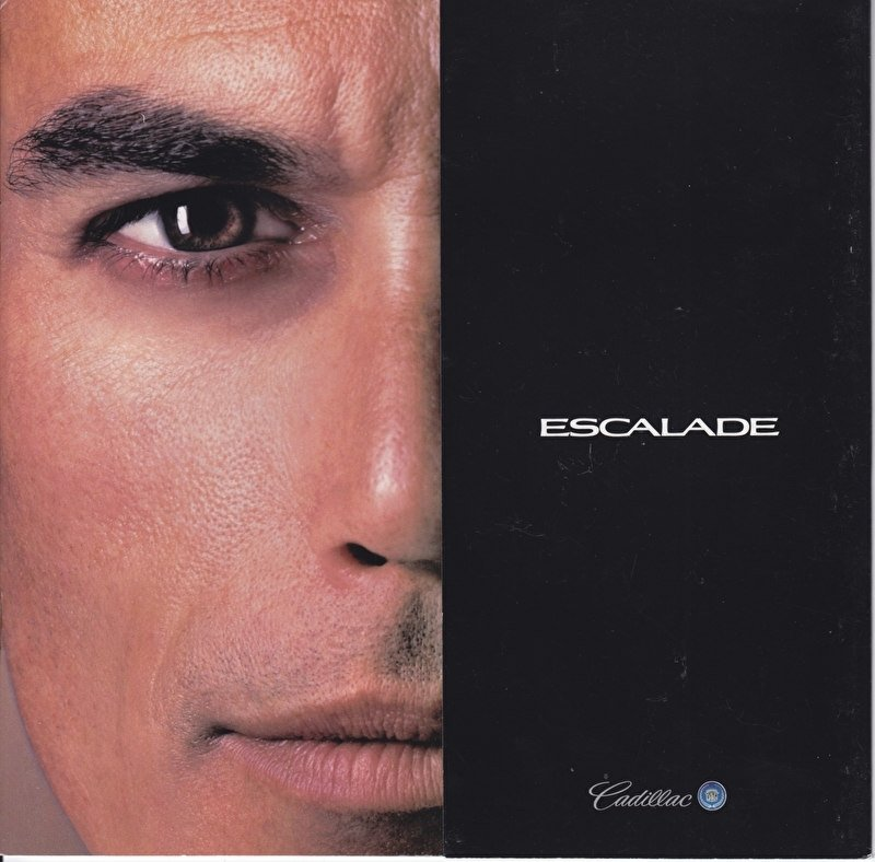 Escalade (first brochure), 8 pages, USA, 8/1998, English