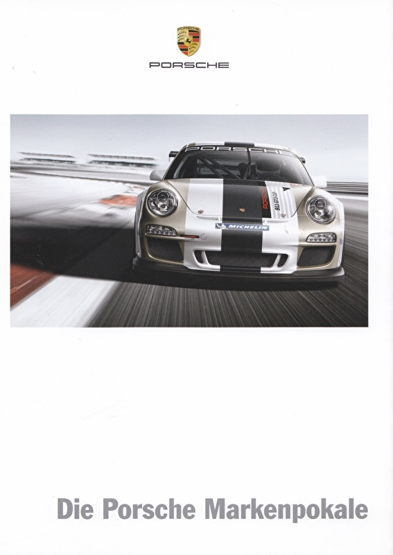 911 GT3 Cup, 8 pages, 08/2011, German language