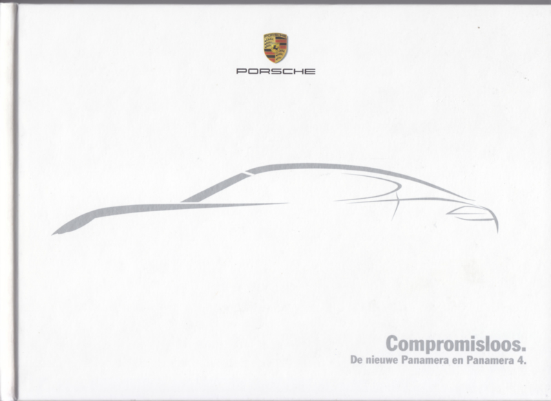 Panamera & Panamera 4 intro brochure, 48 pages, 01/2010, hard covers, Dutch