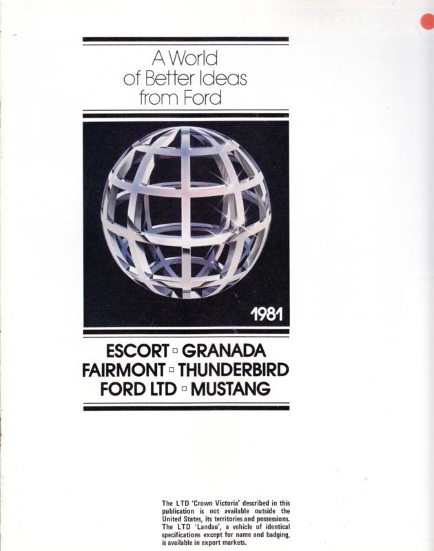 All model program USA, 8 pages, English language, 8/1980, #007