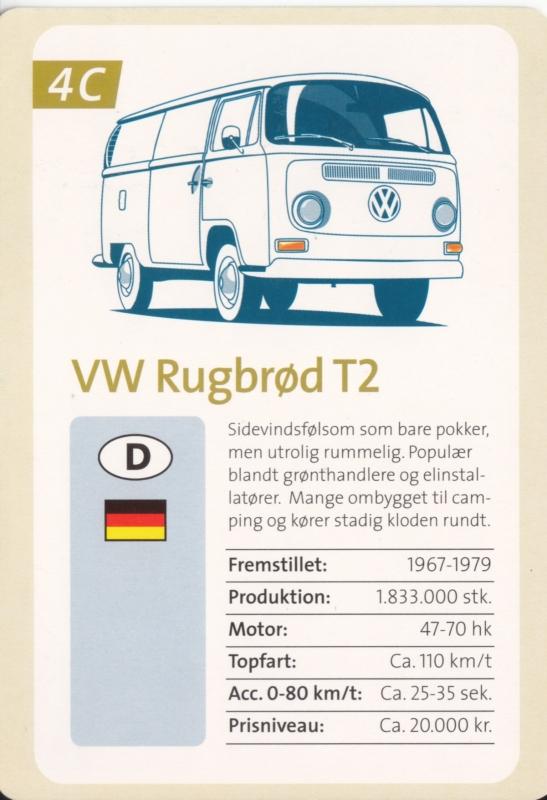 T2 Transporter freecard, A6-size postcard, Danish issue by Newbie card, # 313726, 2001