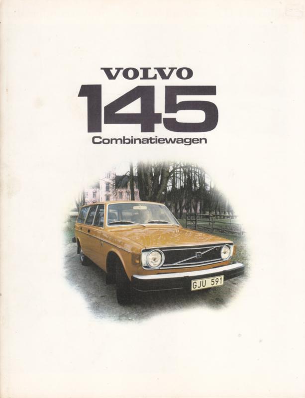 145 Combinatiewagen brochure, 6 pages, Dutch language, 1974