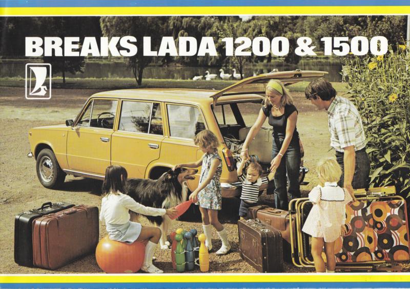 1200/1500 Breaks brochure, 8 pages, about 1978, Dutch language (Belgium)
