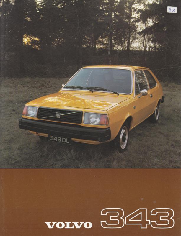343 L/DL leaflet, Dutch language, 1976