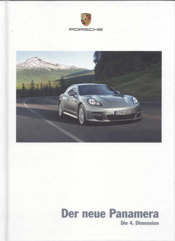 Panamera brochure, 172 pages, 12/2008, hard covers, German