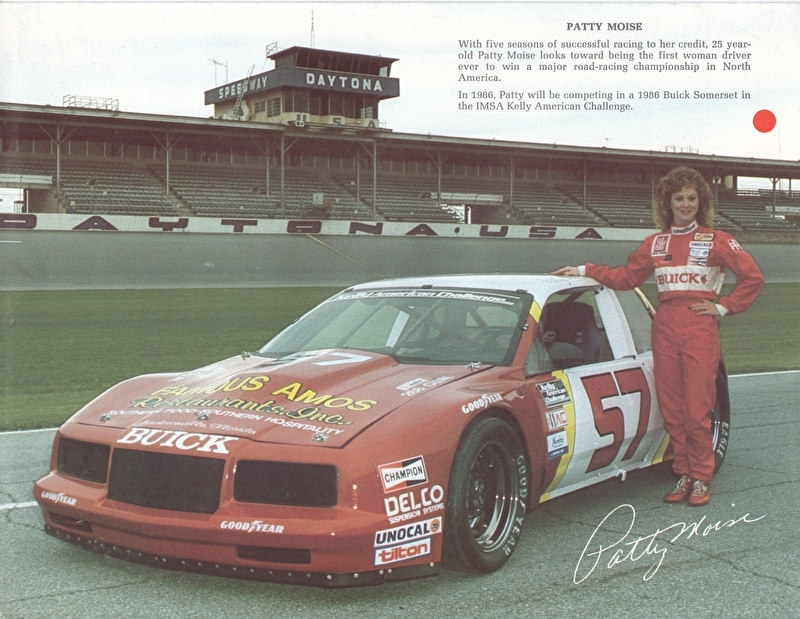 Somerset IMSA race car, 2 pages, 1986, USA (reverse: dealers New York/New Jersey area)