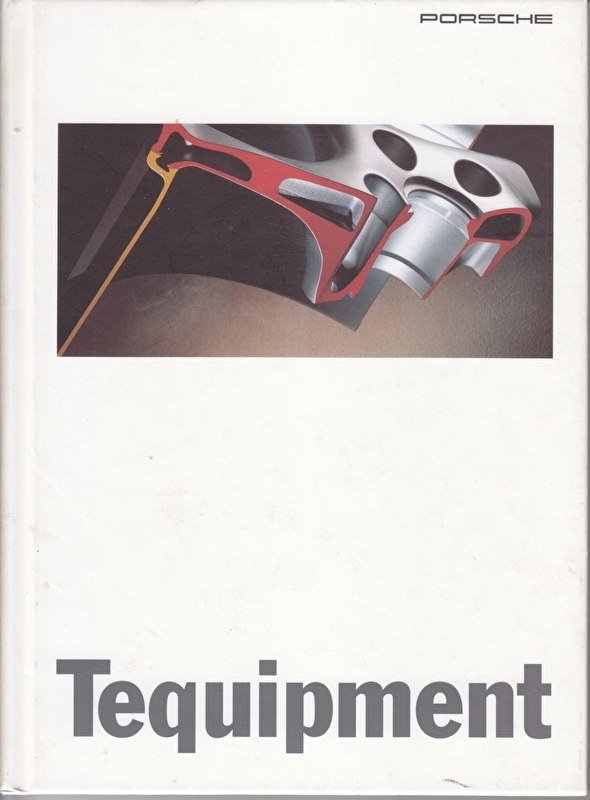 Tequipment brochure, 76 pages, 09/1995, hard covers, Dutch language