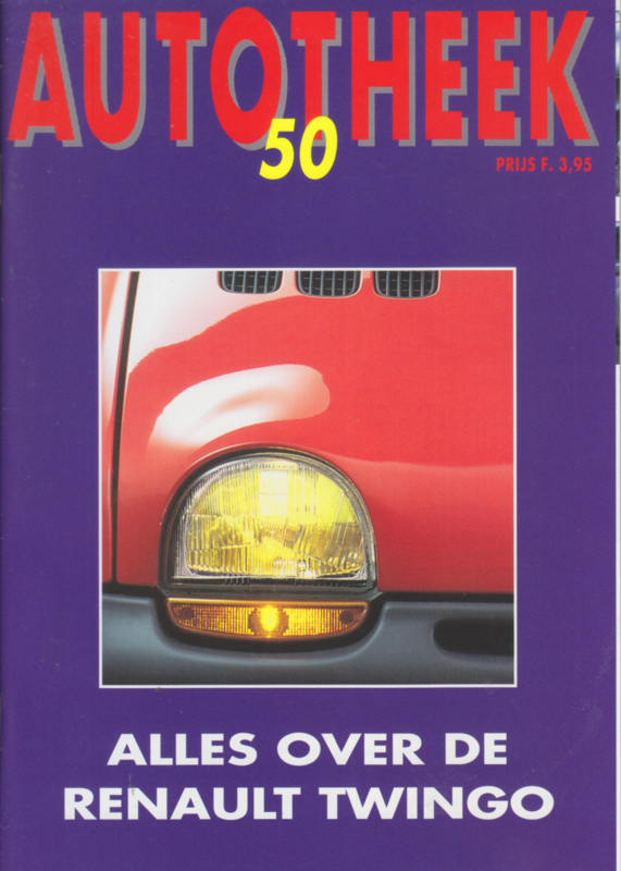 issue # 50, Renault Twingo, 36 pages, 2/1993, Dutch language