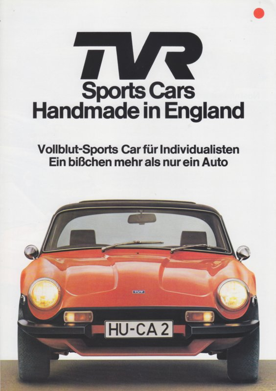 3000 / 3000 M, 6 page brochure, German language, about 1976 *