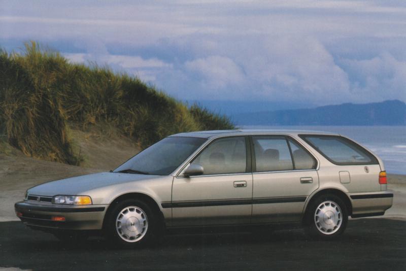 Accord EX Wagon, US postcard, continental size, 1993, # ZO313