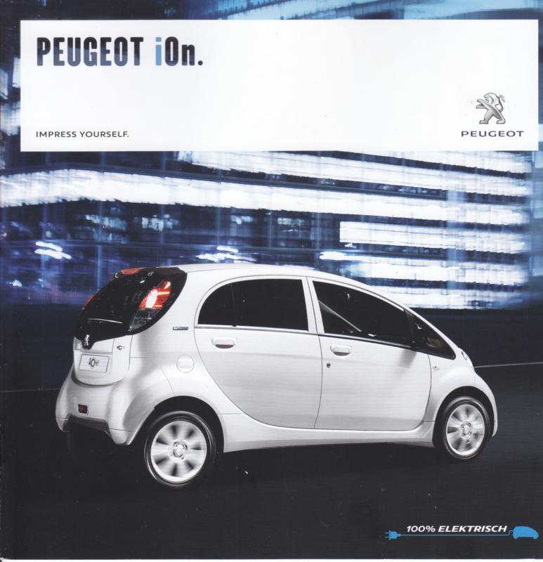 iOn electric car brochure, 12 pages, German language, 06/2016