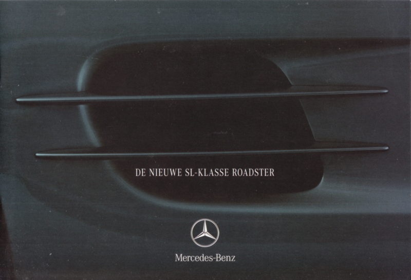 SL Roadster brochure. 18 pages, 08/2001, Dutch language