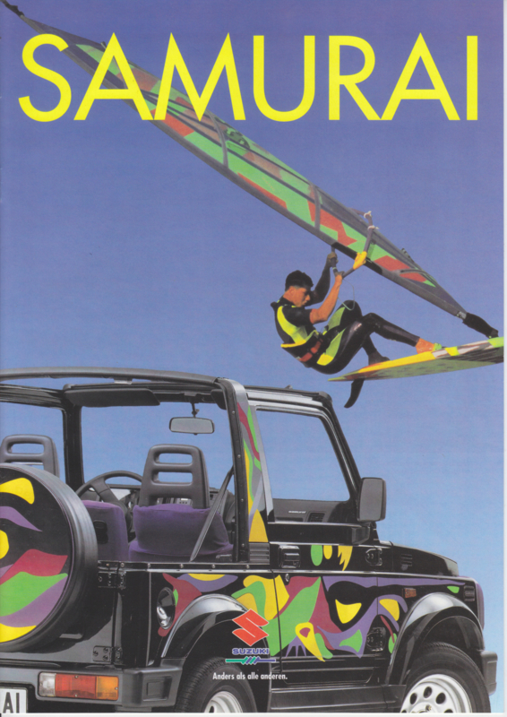 Samurai brochure, 12 pages, 04/1994, German language