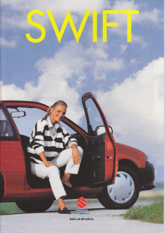 Swift brochure, 32 pages, 09/1994, German language