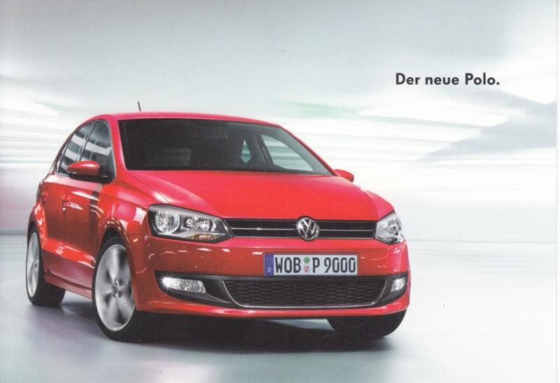 Polo postcard,  A6-size, German language, about 2010