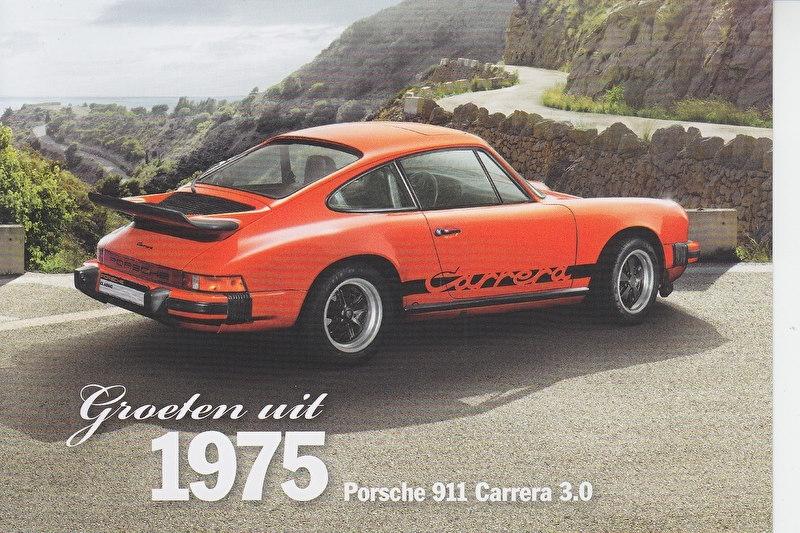911 Carrera 3.0 1975, Classic, Dutch, A6-size