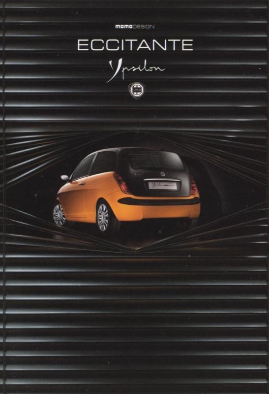 Ypsilon Momo design postcard, DIN A6-size, Italian Promocard, # 5976