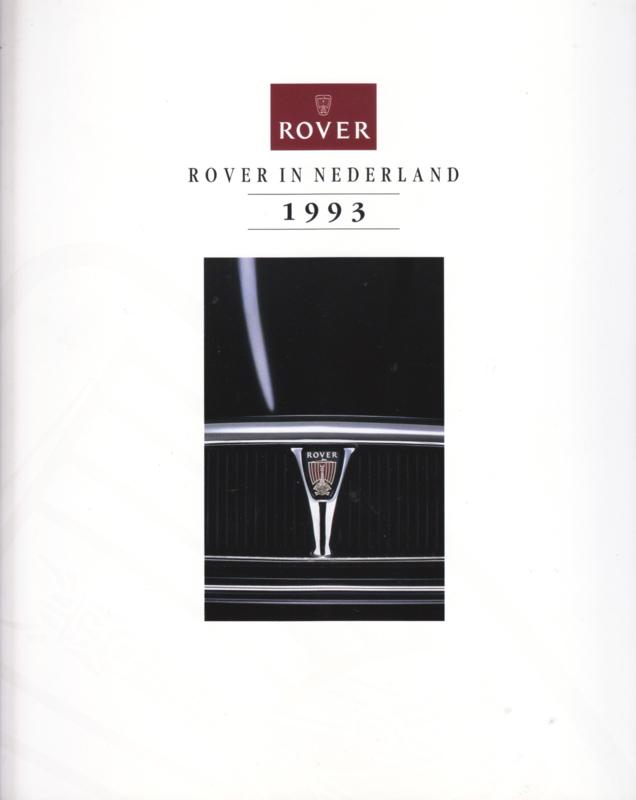 Program brochure, 36 pages, 1993, Dutch language