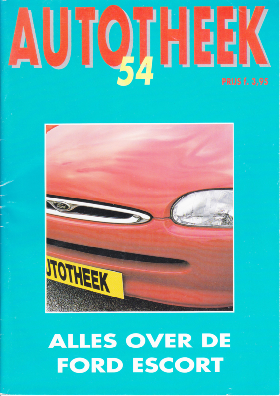 issue # 54, Ford Escort, 36 pages, 04/1995, Dutch language