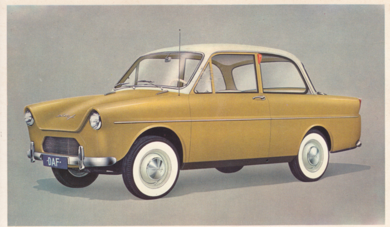 600 Sedan, standard size, factory issue, 5 languages, about 1960, # 19