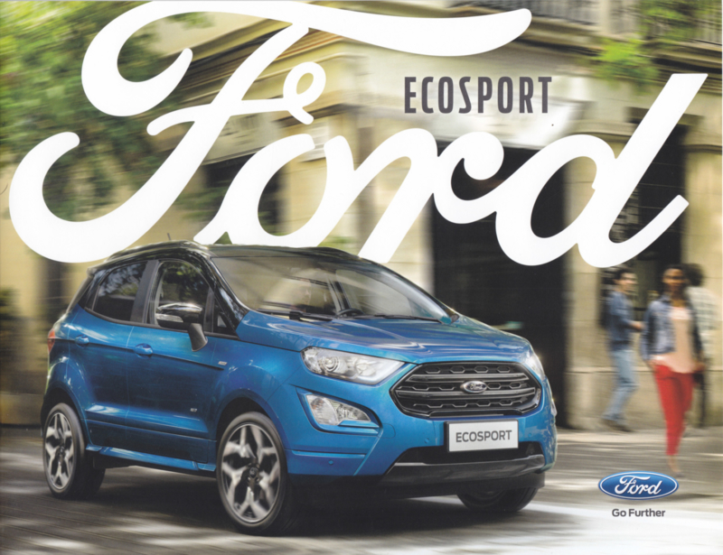 Ecosport brochure, 12 pages, 08/2017, Dutch language