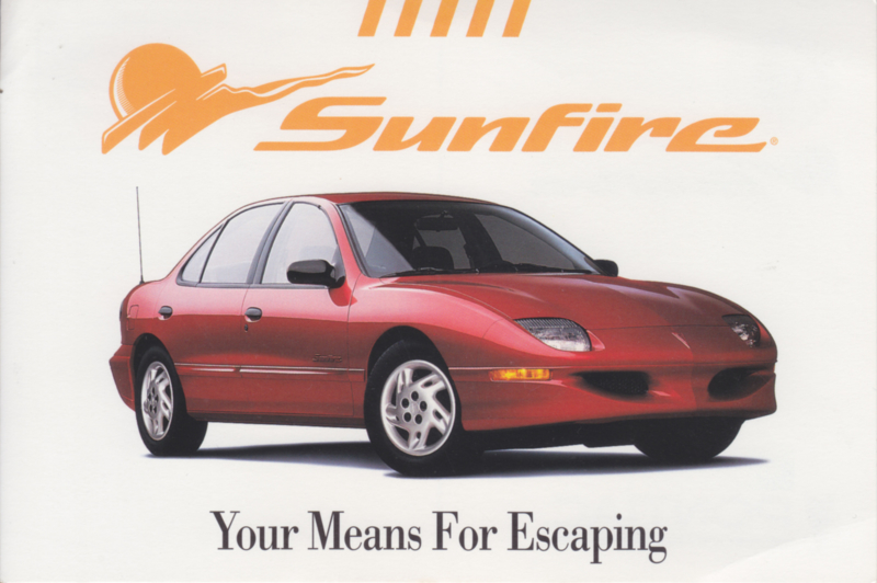 Sunfire, 1997, continental size, USA